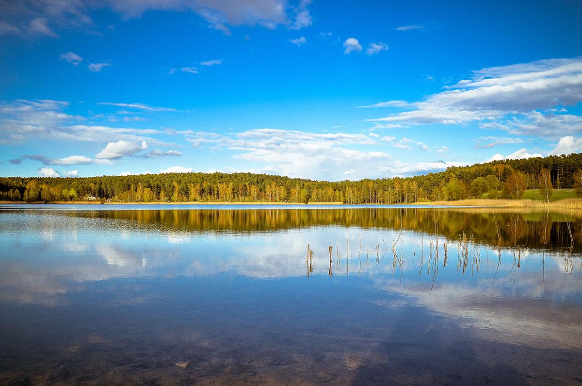 Jezioro bik - Olsztyn, Warmia